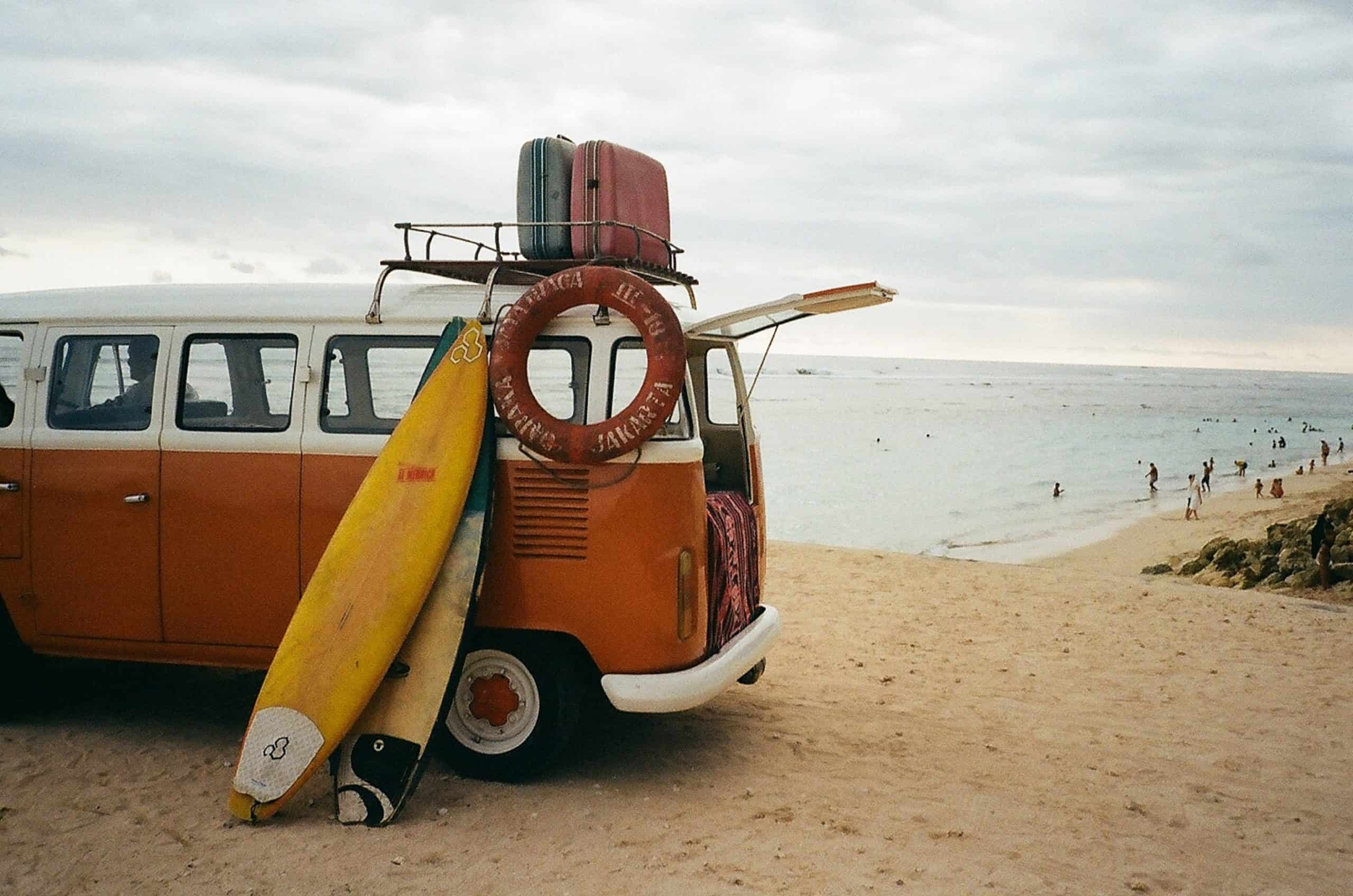 Vanlife Beach