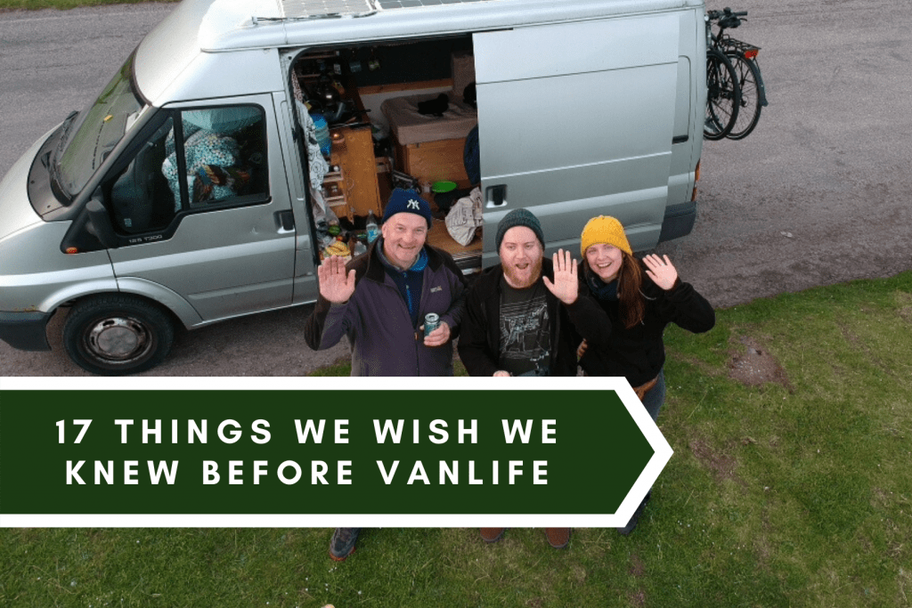 What we wish we knew vanlife