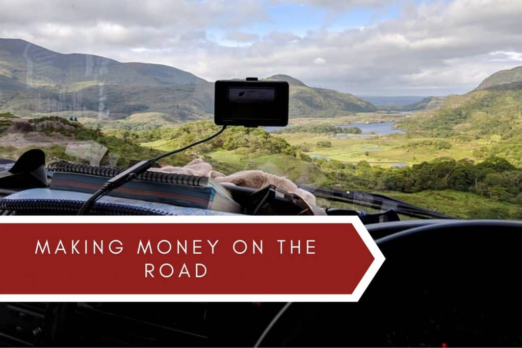 making money on the road