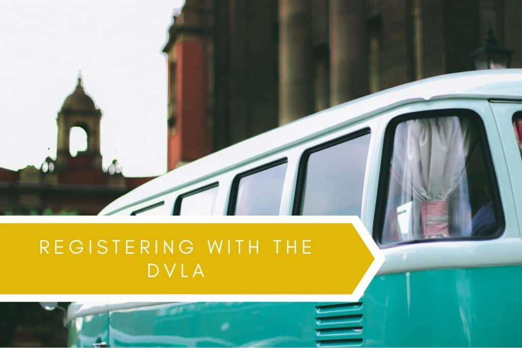 Registering with the dvla