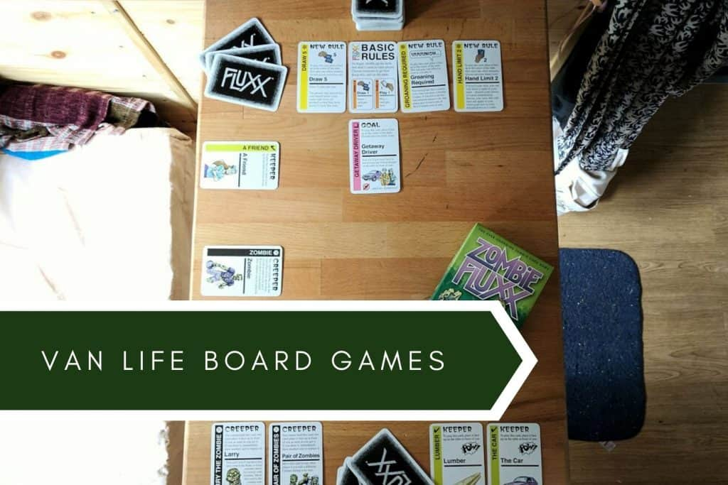 vanlife board games