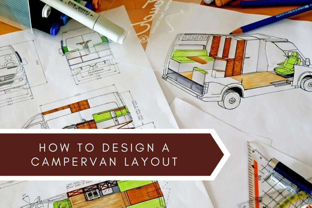 Design a camper van layout